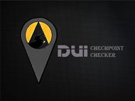 DUI Checkpoint Finder Logo - Entry #26