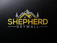 Shepherd Drywall Logo - Entry #235