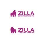 Zilla Construction, Inc Logo - Entry #46