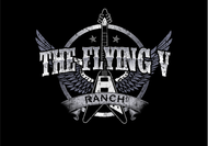 The Flying V Ranch Logo - Entry #71