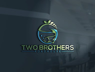 Two Brothers Roadhouse Logo - Entry #108