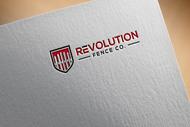 Revolution Fence Co. Logo - Entry #124