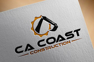 CA Coast Construction Logo - Entry #160