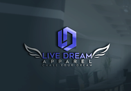LiveDream Apparel Logo - Entry #155