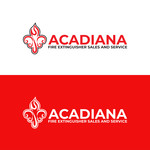Acadiana Fire Extinguisher Sales and Service Logo - Entry #100