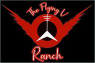 The Flying V Ranch Logo - Entry #83