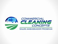 Commercial Cleaning Concepts Logo - Entry #35