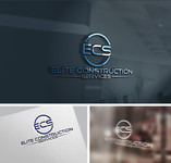 Elite Construction Services or ECS Logo - Entry #69
