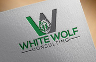 White Wolf Consulting (optional LLC) Logo - Entry #388