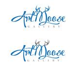 ArtMoose Gallery Logo - Entry #55