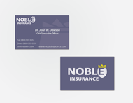 Noble Insurance  Logo - Entry #225