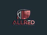ALLRED WEALTH MANAGEMENT Logo - Entry #516