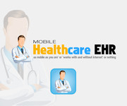 Mobile Healthcare EHR Logo - Entry #116