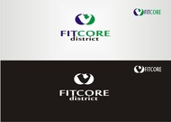 FitCore District Logo - Entry #15