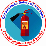 Consolidated Safety of Acadiana / Fire Extinguisher Sales & Service Logo - Entry #144
