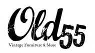 """""""OLD 55"""" - mid-century vintage furniture and wares store Logo - Entry #100"""