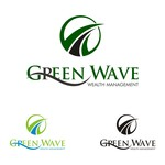 Green Wave Wealth Management Logo - Entry #360