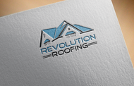 Revolution Roofing Logo - Entry #62