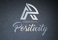 Aggressive Positivity  Logo - Entry #89