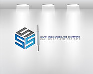 Sapphire Shades and Shutters Logo - Entry #67