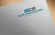Elite Construction Services or ECS Logo - Entry #50