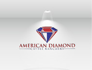 American Diamond Cattle Ranchers Logo - Entry #132