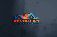Revolution Roofing Logo - Entry #252