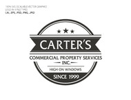 Carter's Commercial Property Services, Inc. Logo - Entry #207