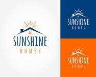 Sunshine Homes Logo - Entry #273