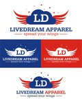 LiveDream Apparel Logo - Entry #467