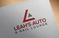 Leah's auto & nail lounge Logo - Entry #84