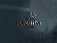 Sunshine Homes Logo - Entry #87