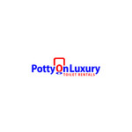 Potty On Luxury Toilet Rentals Logo - Entry #43