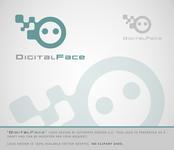 Digital Face Logo - Entry #38