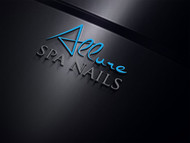Allure Spa Nails Logo - Entry #136