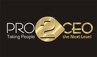 PRO2CEO Personal/Professional Development Company  Logo - Entry #33
