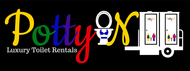 Potty On Luxury Toilet Rentals Logo - Entry #67
