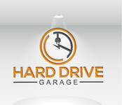 Hard drive garage Logo - Entry #114