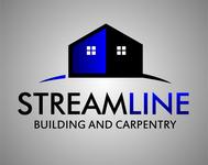 STREAMLINE building & carpentry Logo - Entry #11