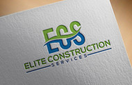 Elite Construction Services or ECS Logo - Entry #221