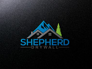 Shepherd Drywall Logo - Entry #327