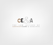 Law Office of Cortright, Evans and Associates Logo - Entry #38