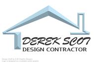 Derek Scot, Design Contractor Logo - Entry #48
