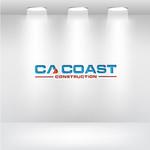CA Coast Construction Logo - Entry #130