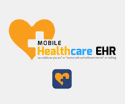 Mobile Healthcare EHR Logo - Entry #115