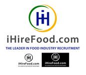 iHireFood.com Logo - Entry #55