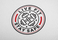 Live Fit Stay Safe Logo - Entry #280
