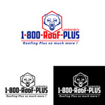 1-800-Roof-Plus Logo - Entry #27