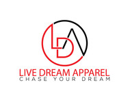 LiveDream Apparel Logo - Entry #160