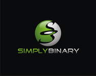Simply Binary Logo - Entry #166